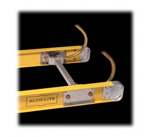 One-Section Fiberglass Ladder