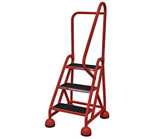 Brilliant Calico Ladders Cotterman Am 303 Aluminum Alumastep Rolling Spiritservingveterans Wood Chair Design Ideas Spiritservingveteransorg