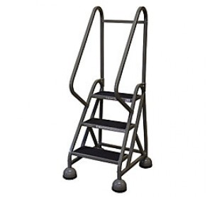Peachy Calico Ladders Cotterman St 321 Steel Masterstep Rolling Ladder Spiritservingveterans Wood Chair Design Ideas Spiritservingveteransorg