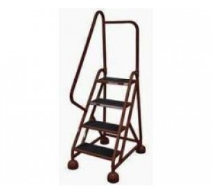 Incredible Calico Ladders Cotterman Am 402 Aluminum Alumastep Rolling Pdpeps Interior Chair Design Pdpepsorg