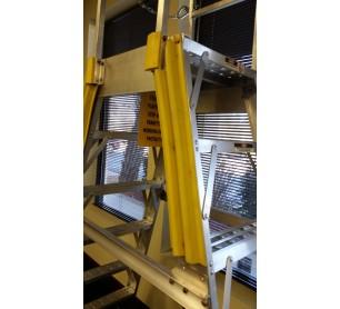 Aircraft Maintenance Ladder Replacement Bumper Guards