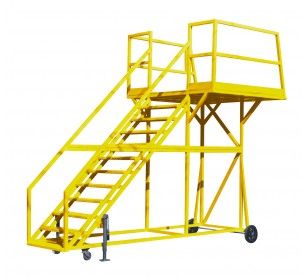 8' Painted Steel Crew Access Stand
