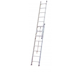 24' Aluminum 500lb. Capacity Extension Ladder