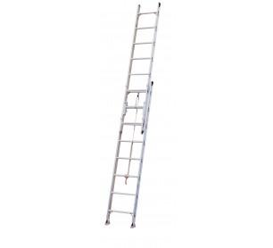 40' Aluminum 500lb. Capacity Extension Ladder
