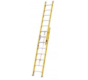 24' Fiberglass 500lb. Capacity Extension Ladder