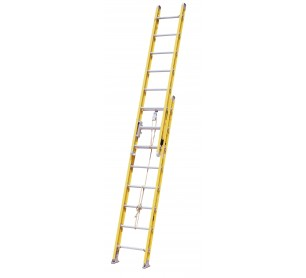 20' Fiberglass 500lb. Capacity Extension Ladder