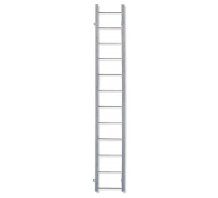 Calico Ladders Galvanized Steel Straight Fixed Ladder