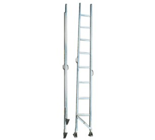 12' Aluminum Folding Inspection Ladder