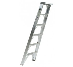 8' Fiberglass Shelf Ladder