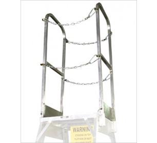 Ground Maintenance Ladder Handrails