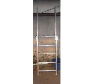 "Carbis 18"" Painted Steel Fixed Ladder (Modular)"