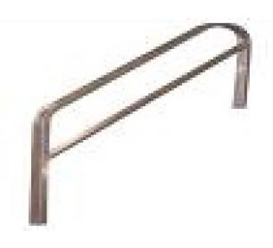 2 Step Aluminum Modular Stair Handrail