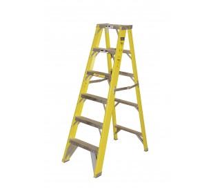 12' Fiberglass 500lb. Capacity Platform Step Ladder