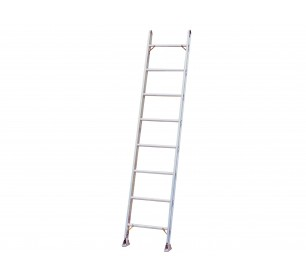 14' Aluminum 500lb. Capacity Single Ladder