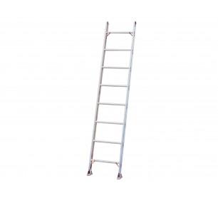 18' Aluminum 300lb. Capacity Single Ladder