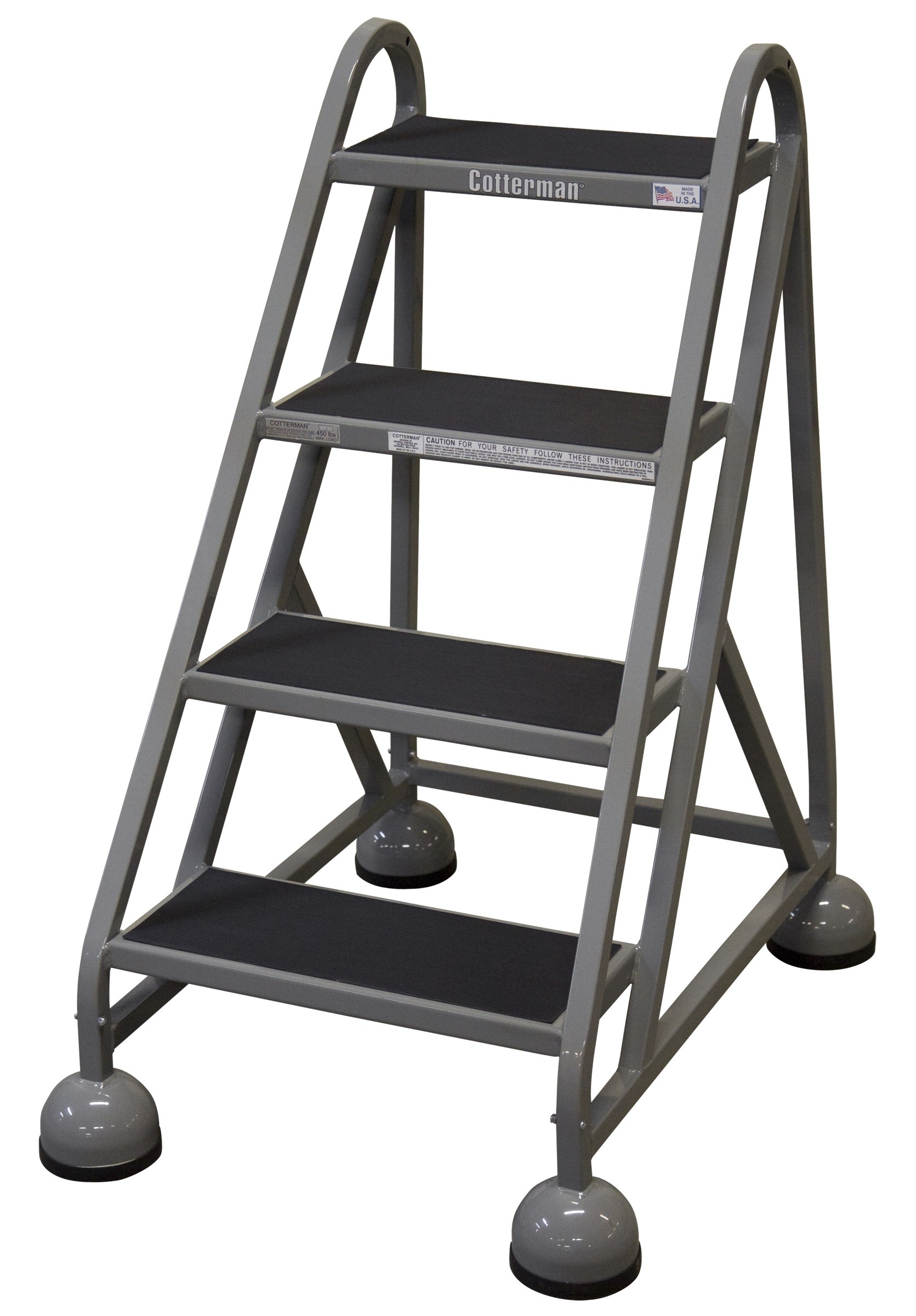 Calico Ladders Cotterman St 400 Steel Masterstep Rolling