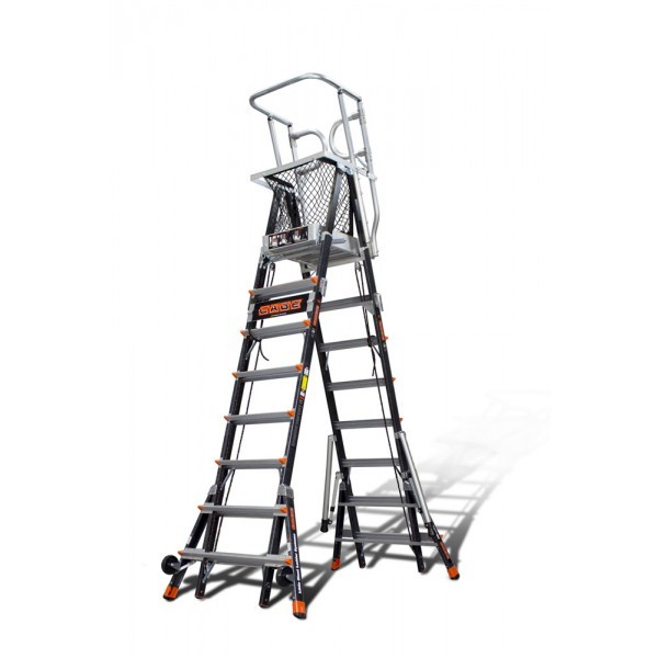 Calico Ladders Little Giant Ladders Aerial Cage 8 14ft