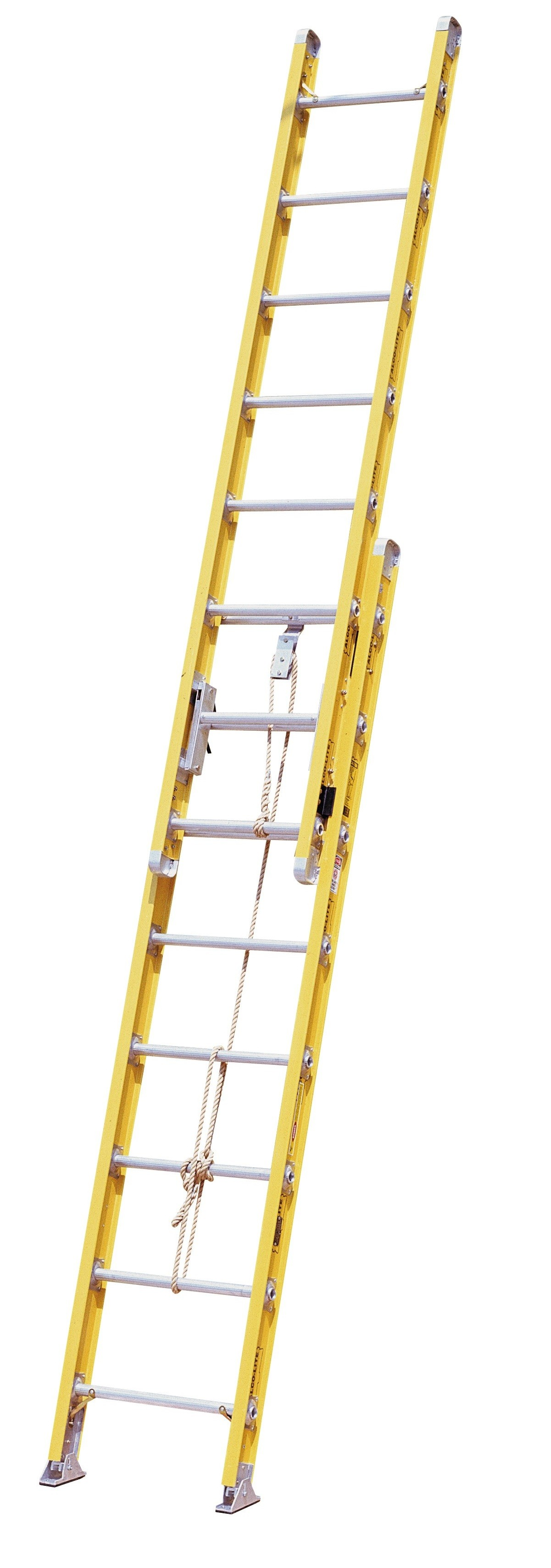 Extension Ladder Parts : Calico ladders ind f fiberglass extension ladder
