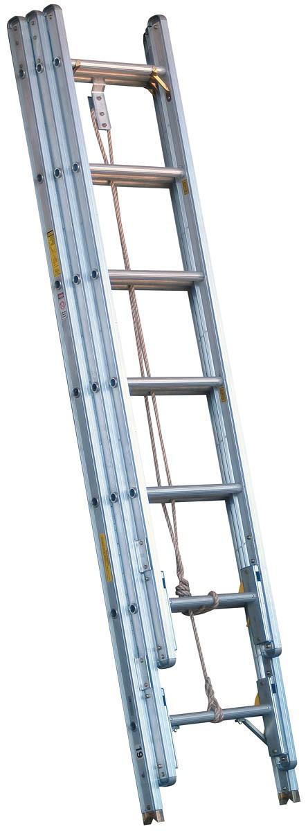 Calico Ladders Alco Lite Pel3 35 Aluminum Three Section