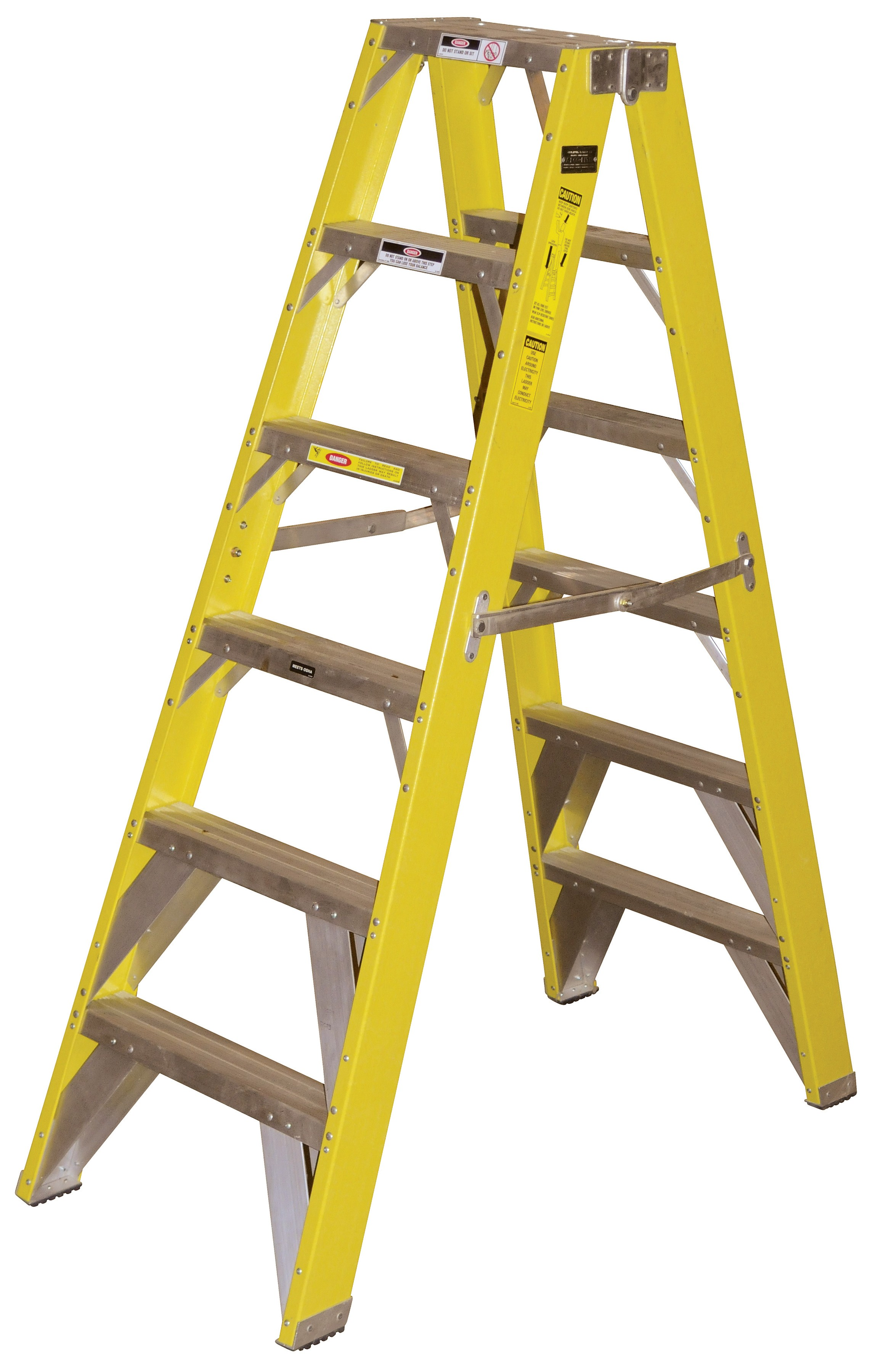 Calico Ladders: PF900H-10 Fiberglass Double Fronted Step ...