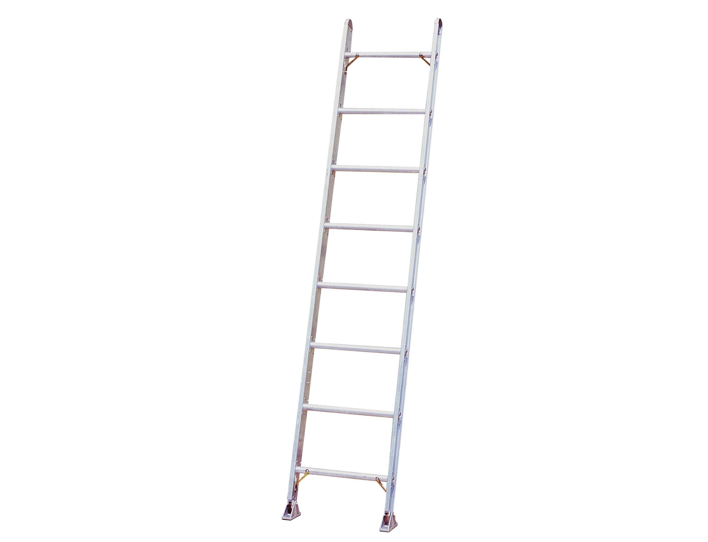 14 Ft Aluminum Ladders : Calico ladders ind a aluminum single ladder