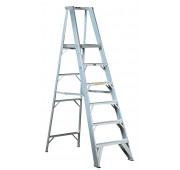 8' Aluminum 500lb. Capacity Step Ladder
