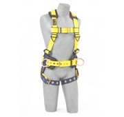 Capital Safety Delta Construction Style Harness w/ Back & Side D-Rings & Tongue Buckle Legs