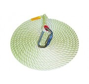 Protecta 50' Nylon Lifeline with Steel Hook