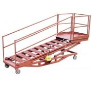 10' Primed Steel Variable Height Aviation Platform