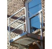 Calico Ladders Aluminum Balcony