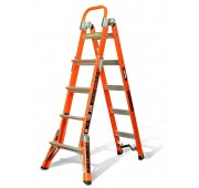 Little Giant Ladders 6' Fiberglass Combination Multi-Use Ladder