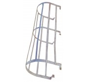 """F"" Series Aluminum Fixed Ladder Safety Cage"