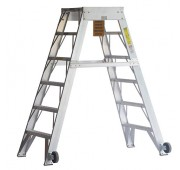 NEW 500Lbs Capacity Aircraft Maintenance Ladder
