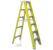 12' Fiberglass 500lb. Capacity Step Ladder