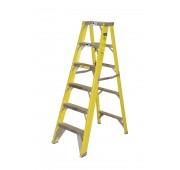 10' Fiberglass 500lb. Capacity Platform Step Ladder