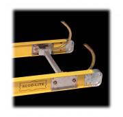 Alco-Lite 10' Fiberglass Roof Ladder