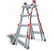 Little Giant Ladders Aluminum Strong and Safe Multi-Use Ladder