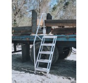 "47"" Aluminum Truck Access Ladder With Handrails"