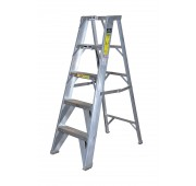 Carbis 14' Aluminum 300lb. Capacity Platform Step Ladder