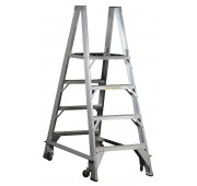 """48"""" Aluminum 500lb. Capacity Double Sided Non-Folding Process Work Stand"""