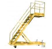 """162""""-168"""" Primed Steel Wing Access Stand"""